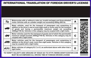 international drivers licence photo size